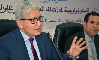 الدكتور محمد شيلح يحاضر عن الميتودولوجية القانونية ودورها في إضفاء الطابع العلمي على الخطاب القانوني.